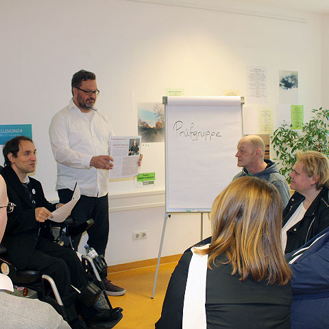 Inclusion24 Prüfgruppe